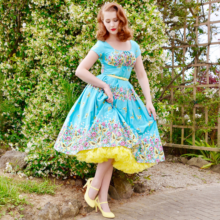 Doris Designs - Yellow Petticoat Underskirt