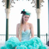 Doris Designs - Aquamarine Petticoat Underskirt Model 2