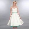 Doris Designs - Aquamarine Petticoat Underskirt Model 3