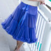 Doris Designs - Bluebell Purple Petticoat Underskirt Model