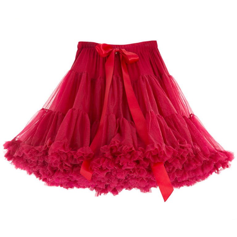 Doris Designs - Blush Red Petticoat Underskirt