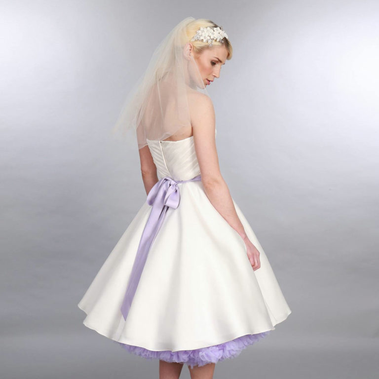Doris Designs - Lilac Petticoat Underskirt Model 2