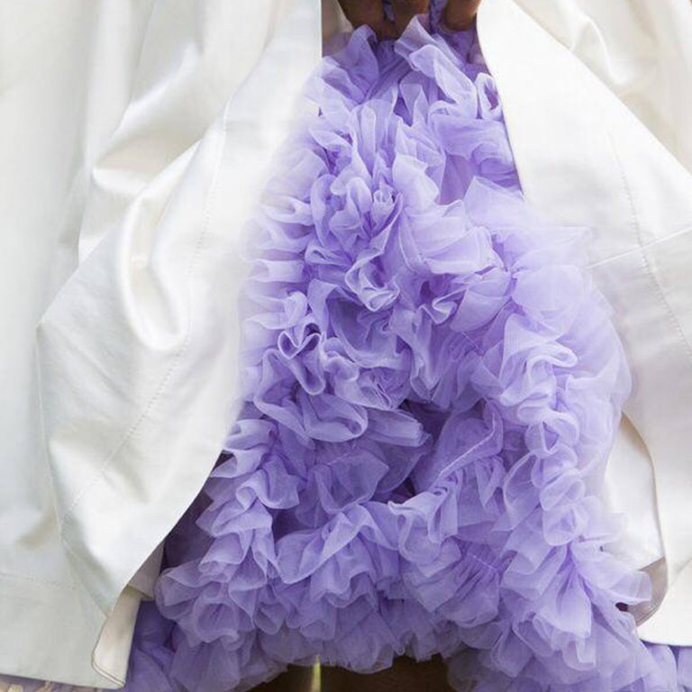 Doris Designs - Lilac Petticoat Underskirt Model 3