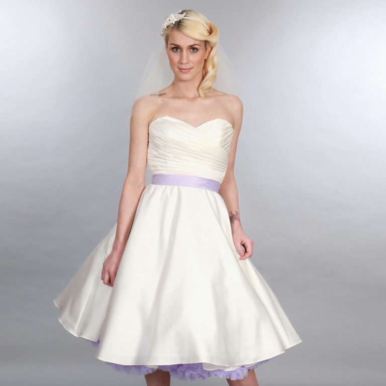 Doris Designs - Lilac Petticoat Underskirt Model