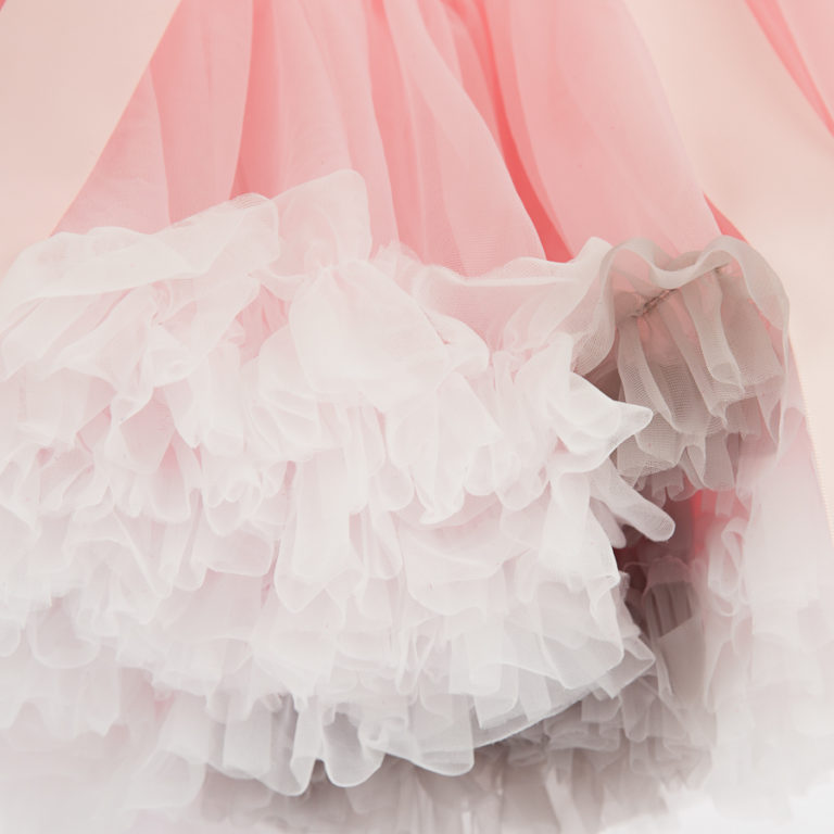 Doris Designs - Multi Molly Pink Petticoat Closeup