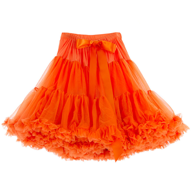Doris Designs - Orange Petticoat Underskirt