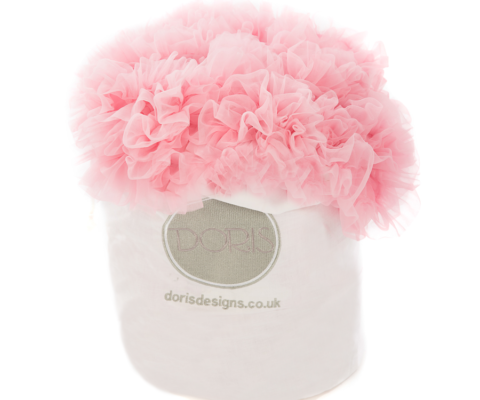 Doris Designs - Pink Petticoat Underskirt Cotton Bag