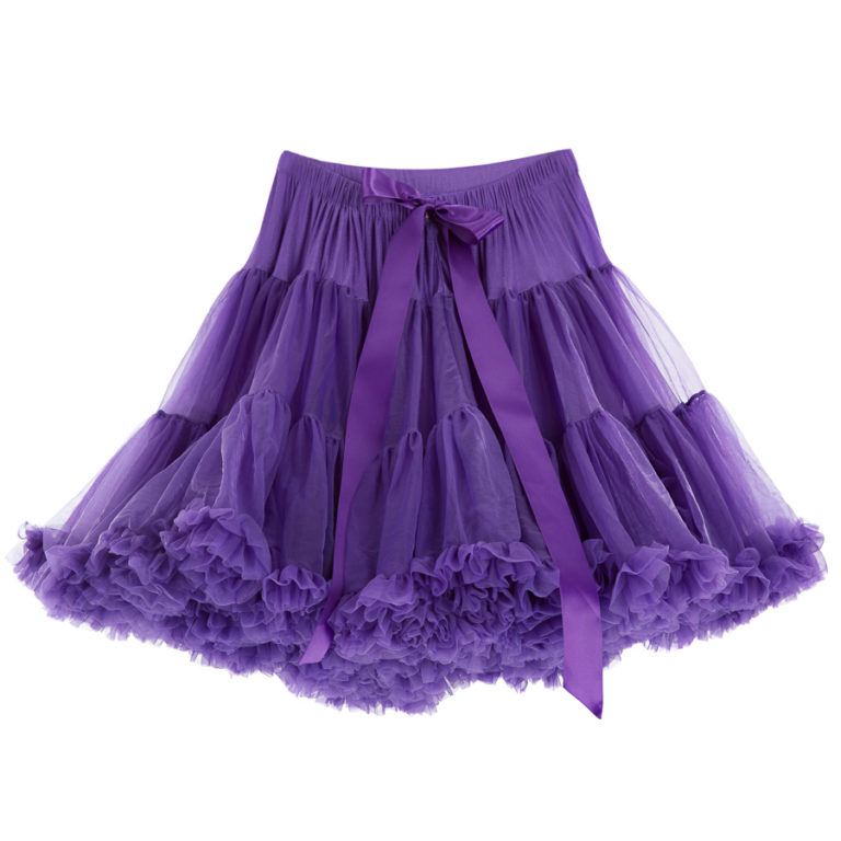 Doris Designs - Purple Petticoat Underskirt