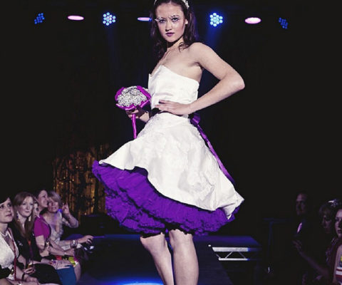 Doris Designs - Purple Petticoat Underskirt Model