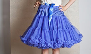 Bluebell Purple Petticoats