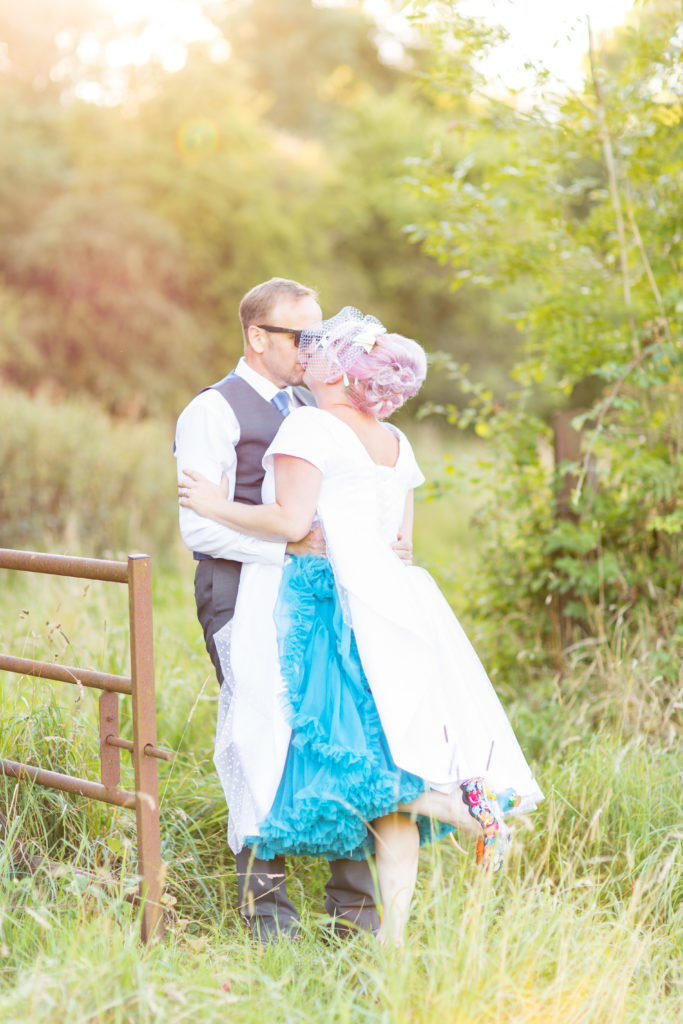 Rockabilly Wedding - Cornflower Blue Petticoat