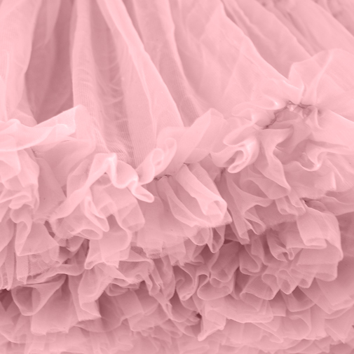 Dusky Pink Petticoat Close Up