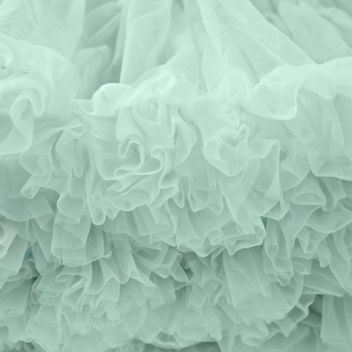 Pastel Green Petticoat Close Up