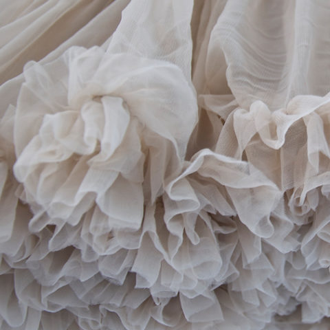 Light Mocha Petticoat Close Up
